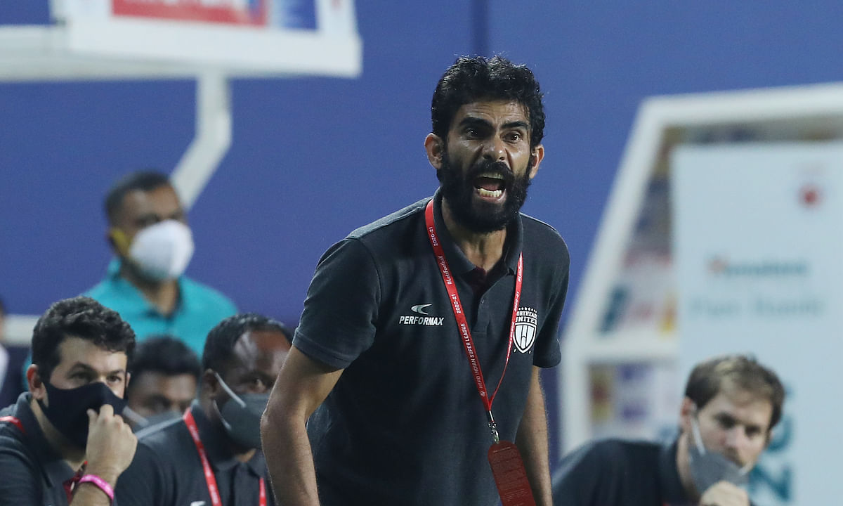 Khalid Jamil does not want NEUFC's playoff dreams to be at the mercy of other results