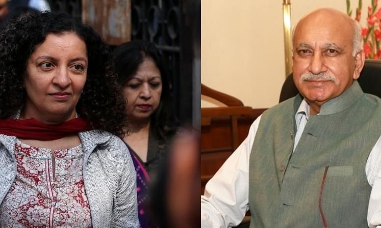 Priya Ramani and M J Akbar