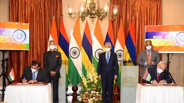 India, Mauritius sign Comprehensive Economic Cooperation and Partnership Agreement