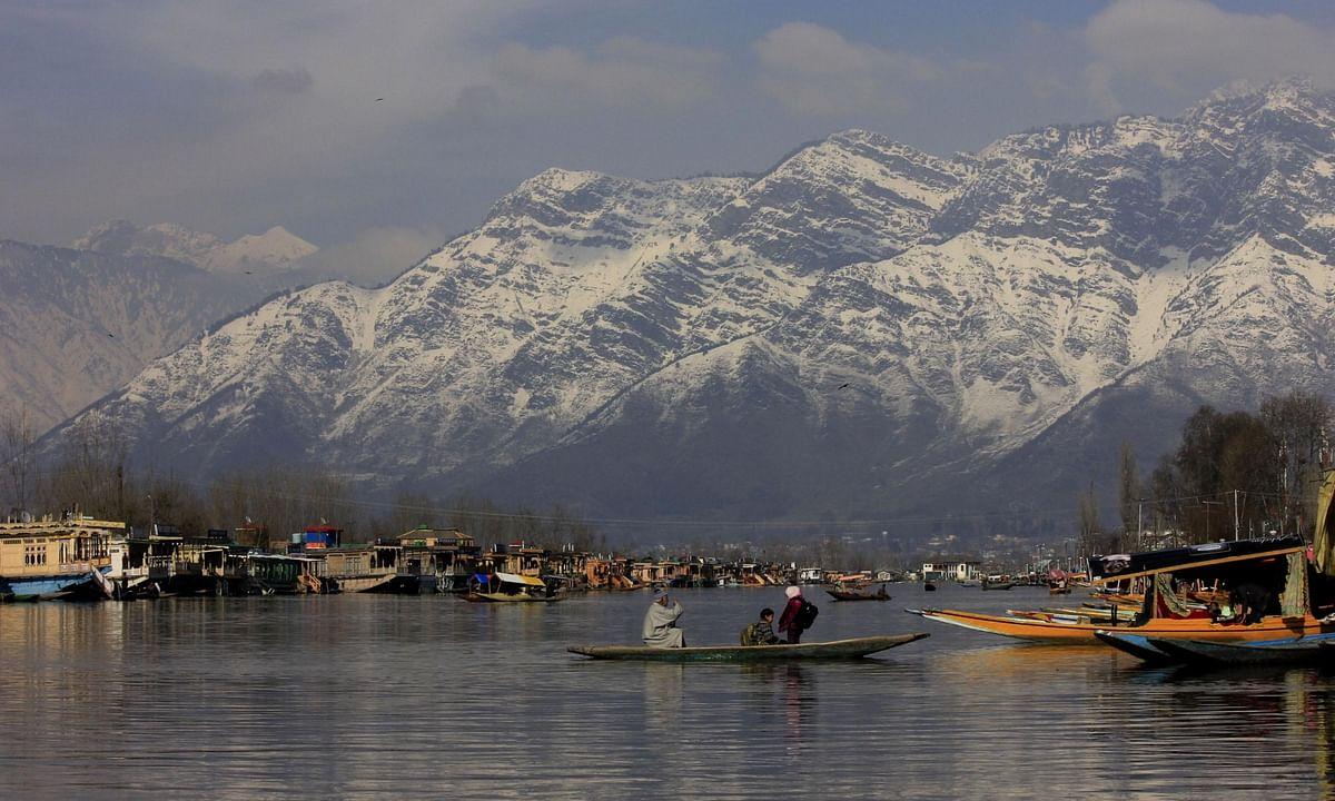 A view of the Dal Lake in Srinagar