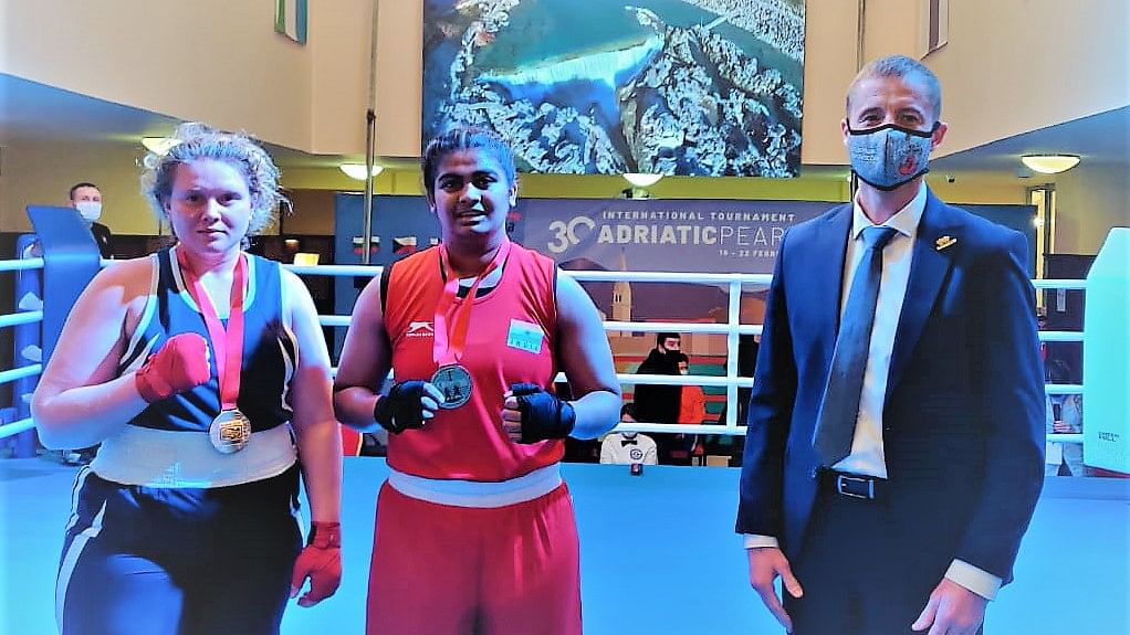 Boxing: Alfiya Pathan wins first gold medal for India at Adriatic Pearl Tournament