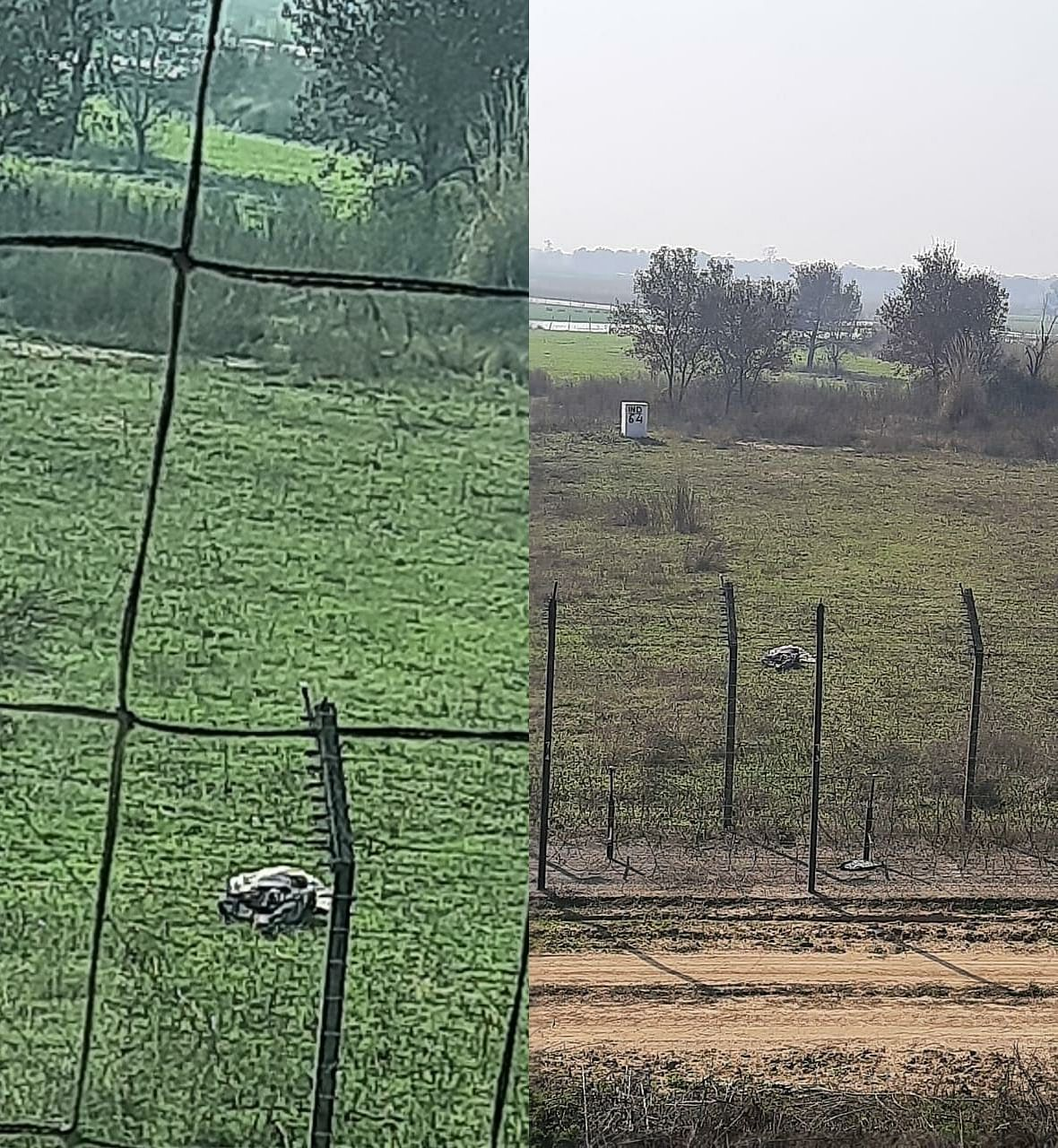 Pakistani intruder shot dead along J&K international border