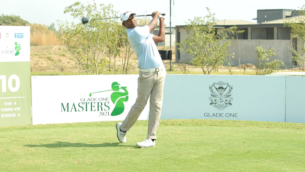 Golf: Seasoned M Dharma,  local  Anshul Patel share lead at Glade One Masters 2021