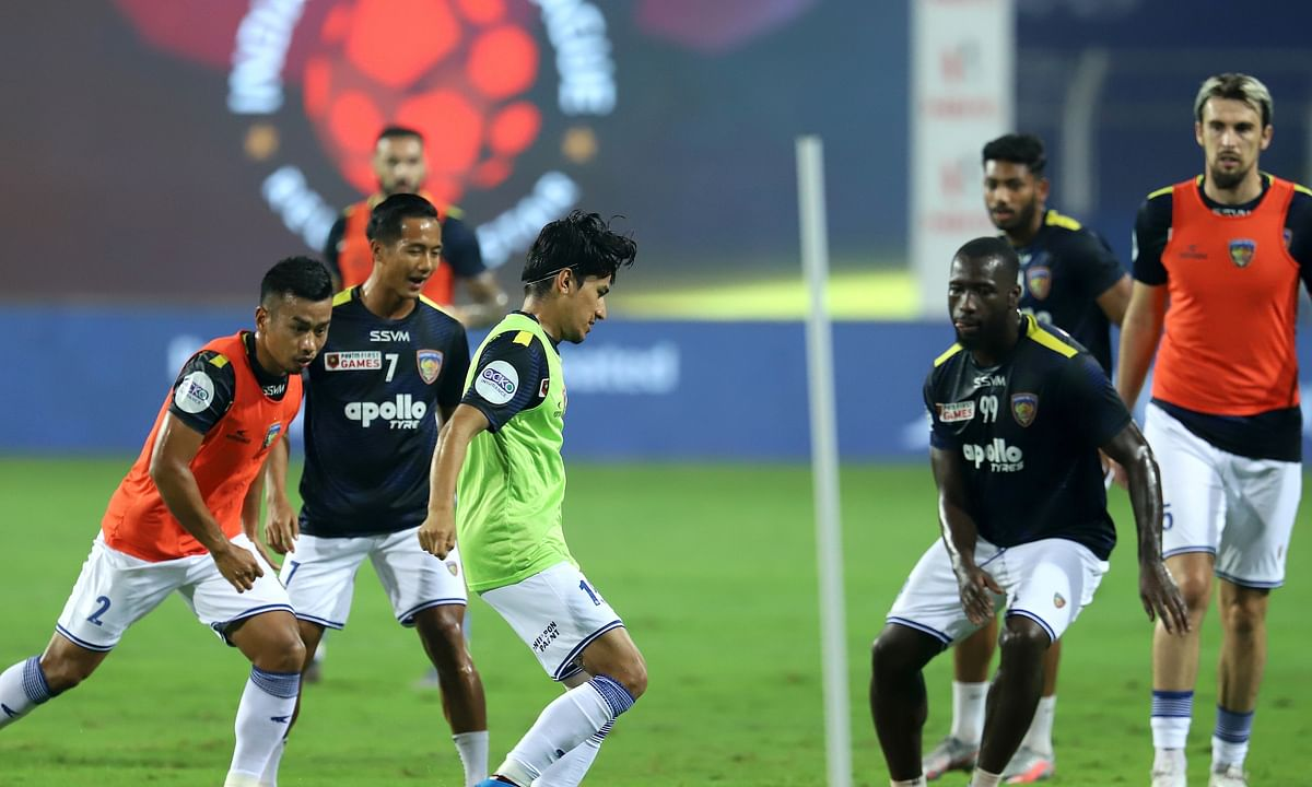 FC Chennaiyin players will hope to find solutions in front of the goal when they take on Jamshedpur FC in the Indian Super League, at Bambolim on February 10, 2021.