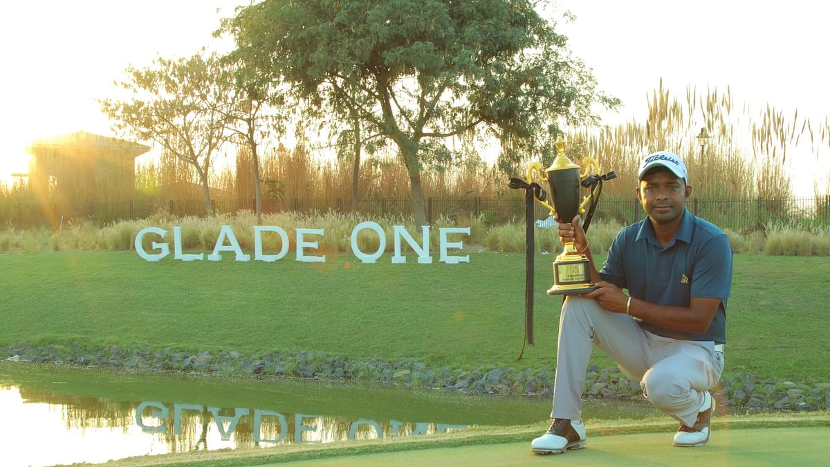 Golf: Om Prakash Chouhan wins Glade One Masters with dominating show on final day