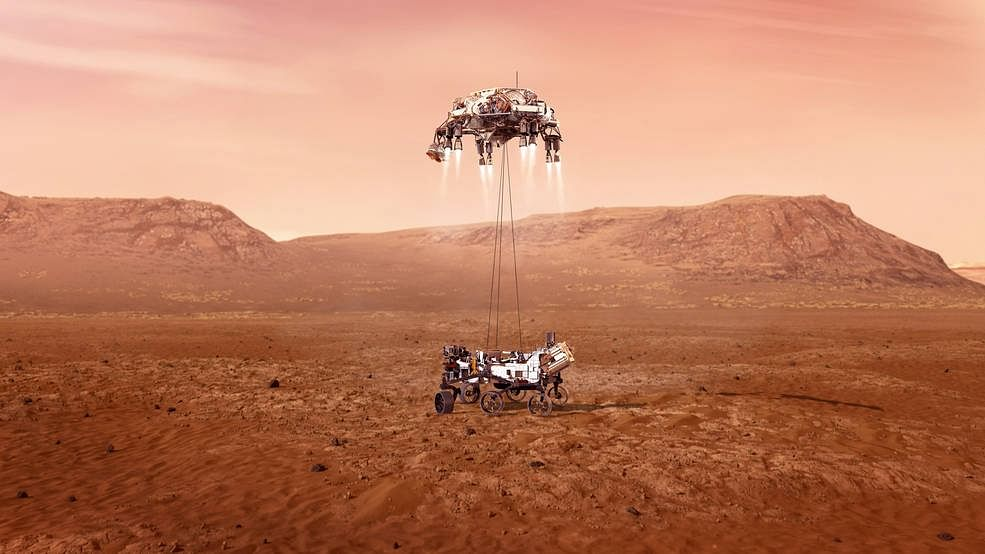 NASA's Mars Perseverance rover safely lands on Red Planet