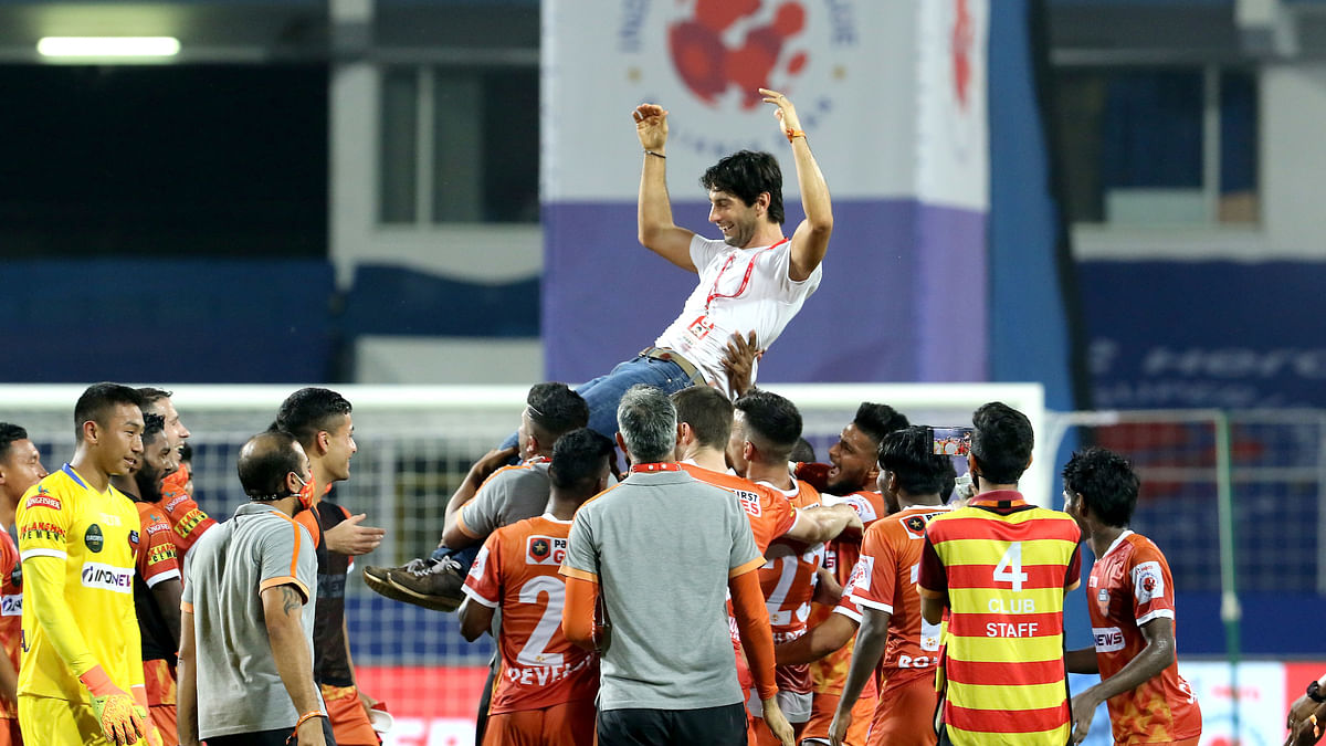 ISL: Goa hold Hyderabad to enter playoffs, set new unbeaten record