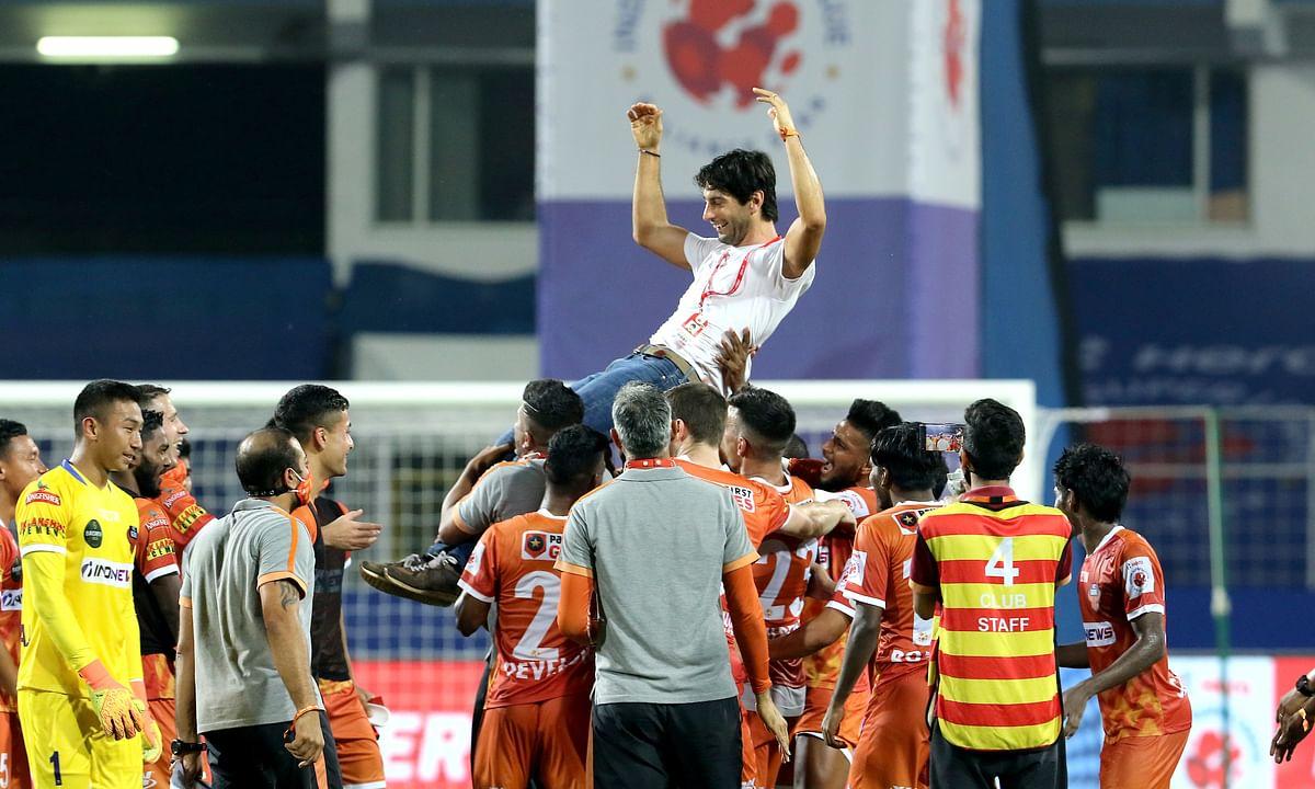 Juan Ferrando's FC Goa now holds the longest unbeaten streak in ISL of 13 games, after their goalless draw against Hyderabad FC at Fatorda, Goa on February 28, 2021