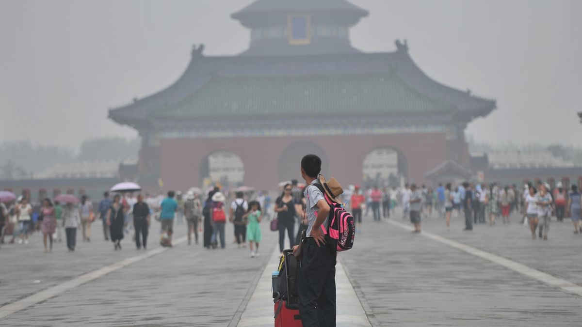 Heavy air pollution continues in Beijing