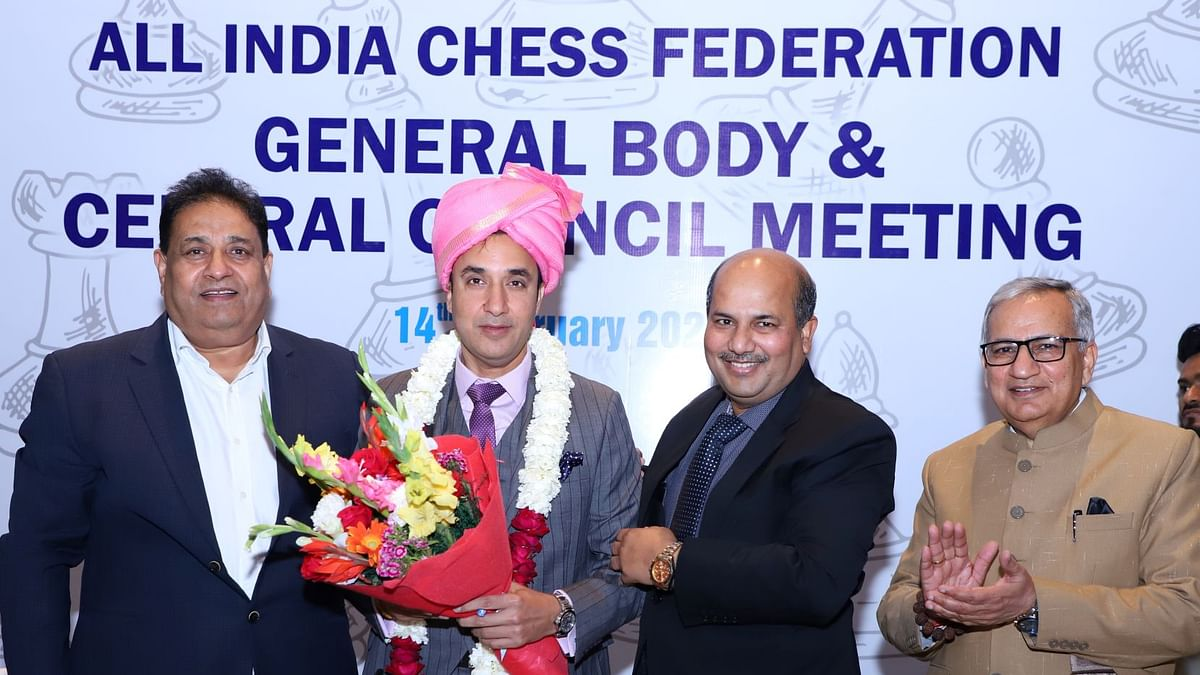 AICF  to bid for Chess Olympiad, start Indian Chess League, Women's Grand Prix