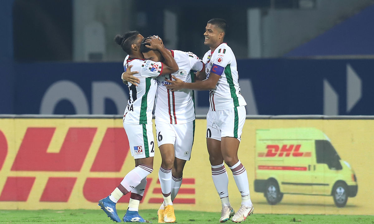It was a Manvir Singh and Roy Krishna show as they scored a brace each to help Mohun Bagan outplay Odisha 4-1, in the Indian Super League at Bambolim (Goa) on February 6, 2021.