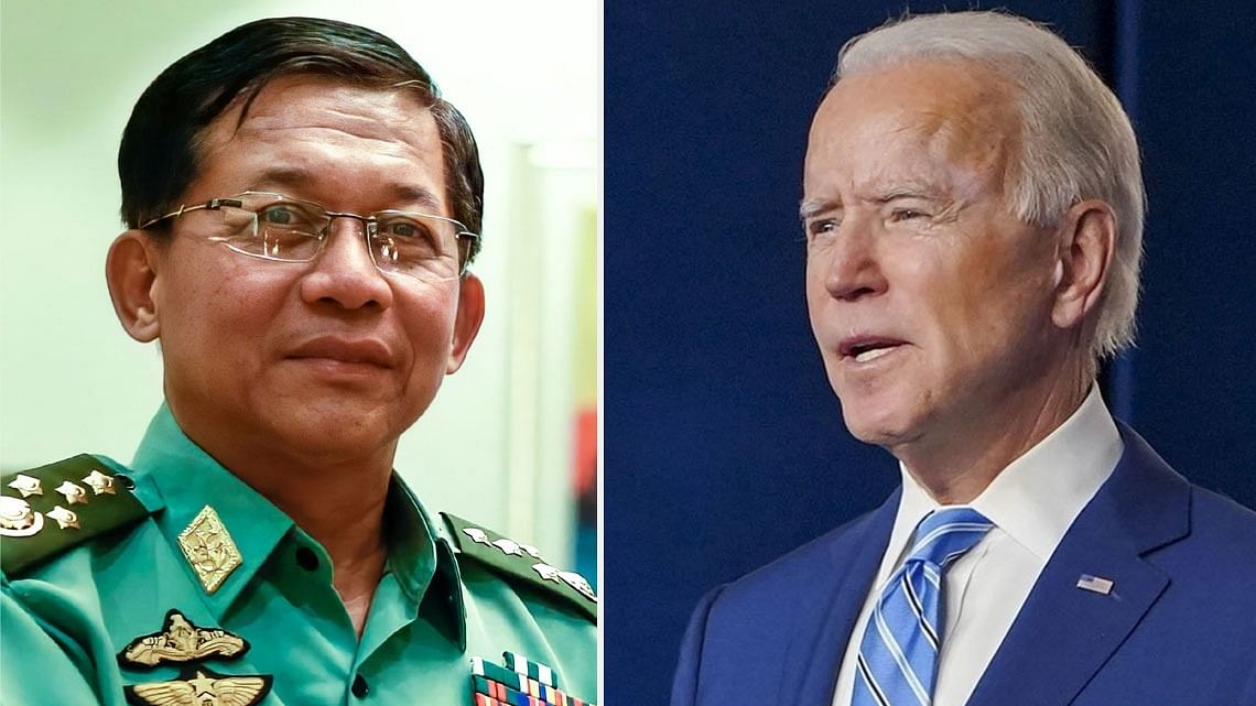 Myanmar 'coup' is 'extraordinary threat' to US national security: Biden