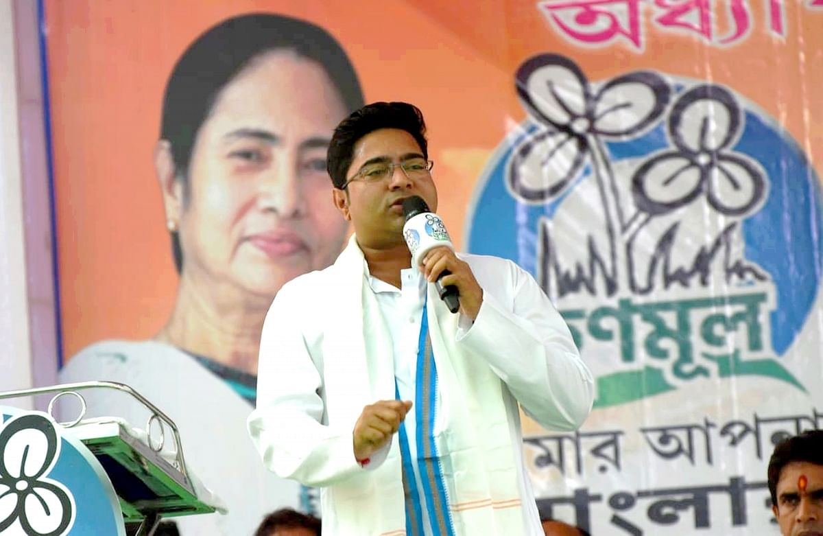 CBI comes to question his wife, Abhishek Banerjee says not cowed down