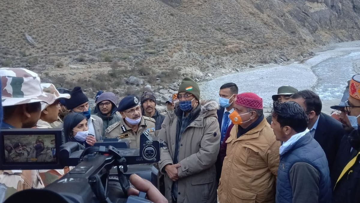 Team to assess lake formation on Rishiganga river in Uttarakhand
