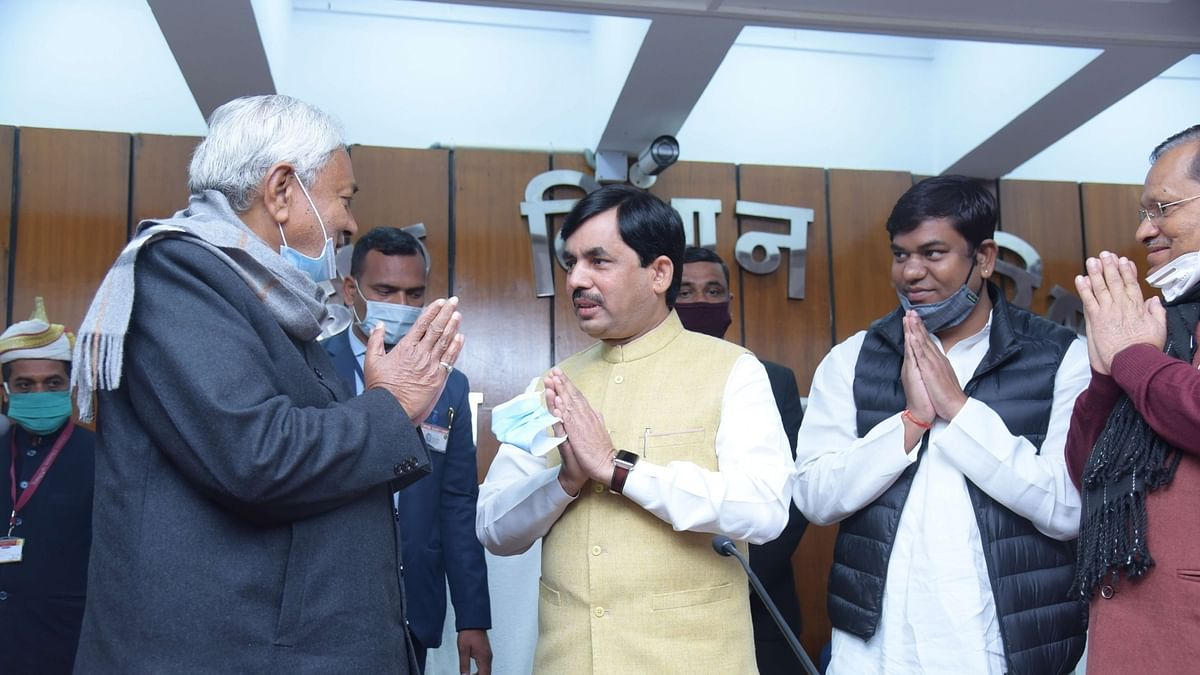 Bihar cabinet expansion: Shahnawaz gets industry, road construction for Nitin Naveen
