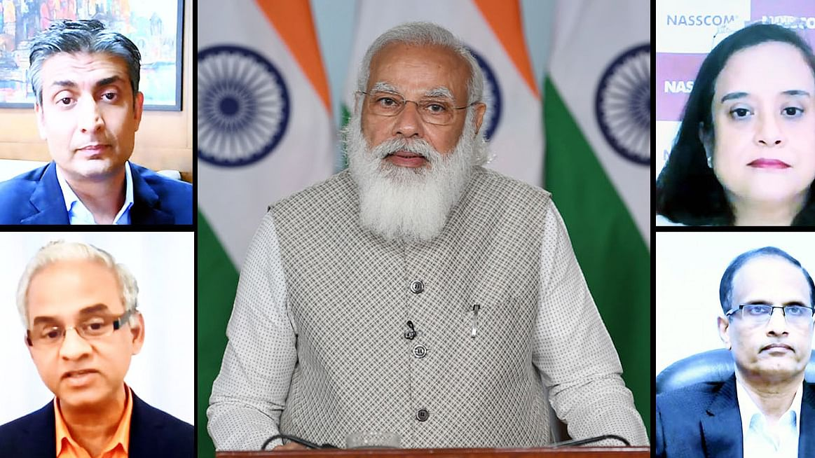 Modi lauds IT industry for resilience and growth during pandemic times