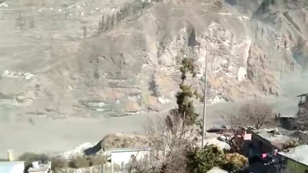 Shah says Uttarakhand flash floods caused by snow avalanche triggered by landslide