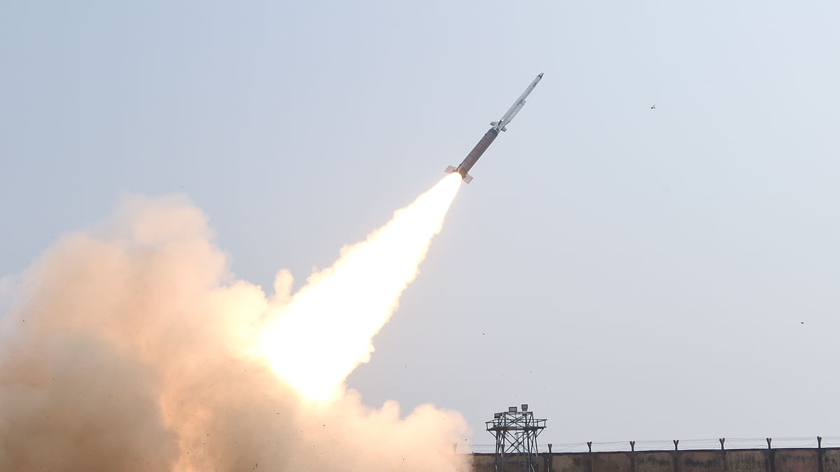 DRDO conducts  successful flight test of SFDR