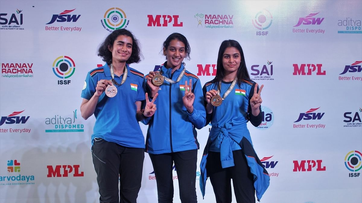 Shooting World Cup: India, with nine medals including three gold, climb to top of table