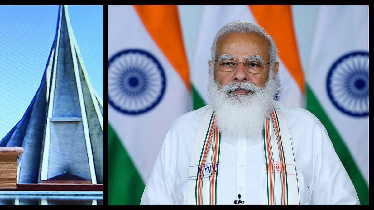 Modi inaugurates 'Maitri Setu' between India and Bangladesh