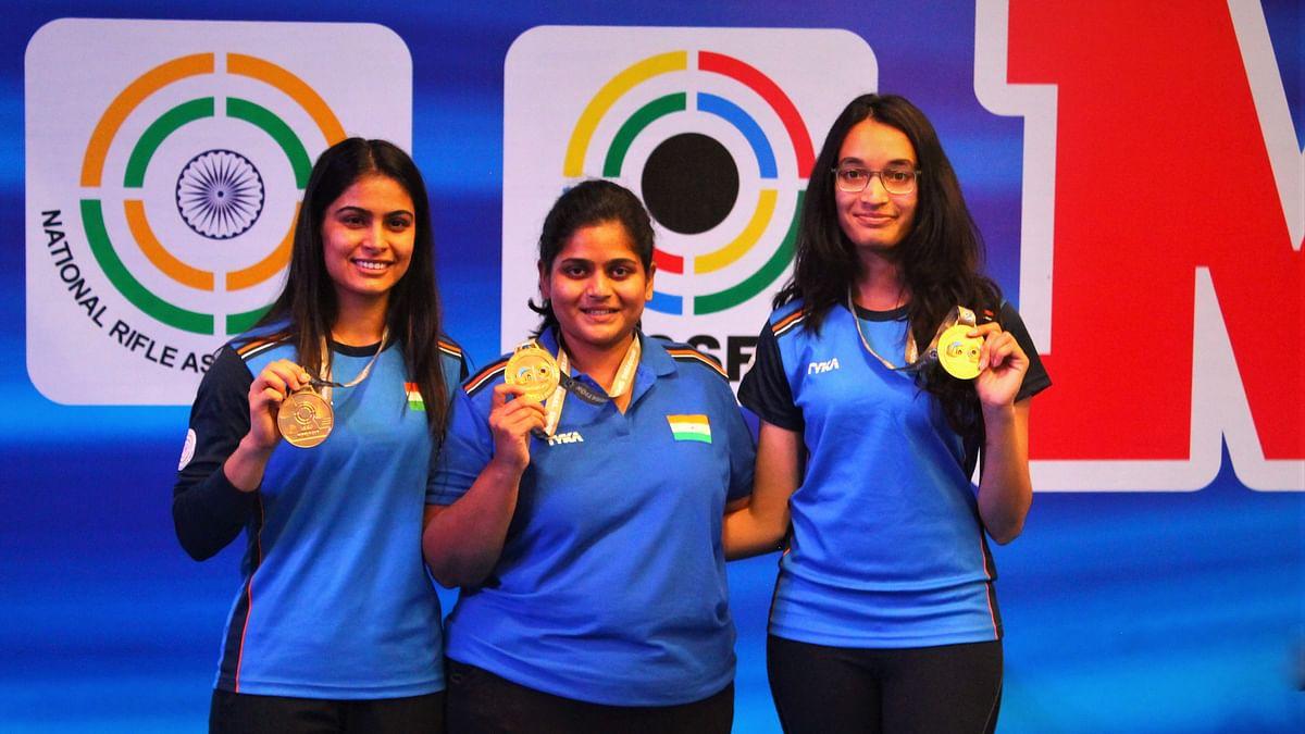 Shooting World Cup: Indian Women Pistol Team wins gold