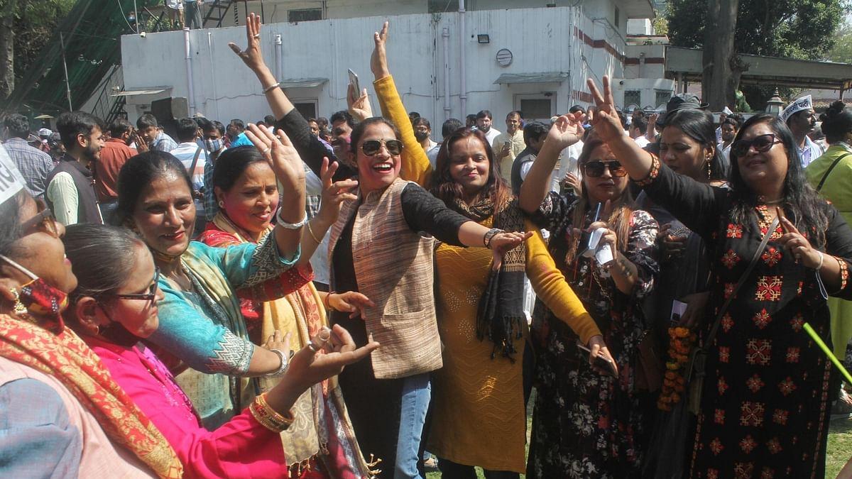 Delhi: AAP wins 4 MCD seats, Congress one, BJP nil in bye-elections