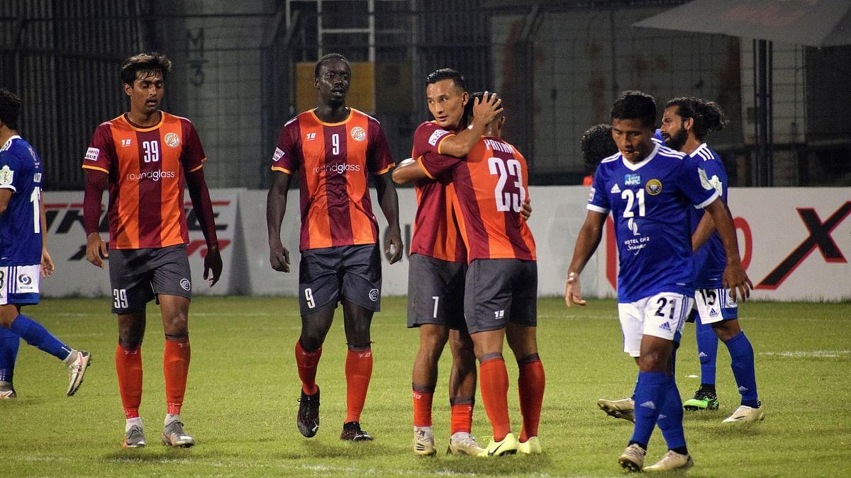 I-League: RoundGlass Punjab edge past 10-man Real Kashmir