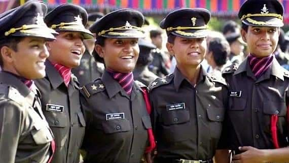A group of women officers of the Indian Army
