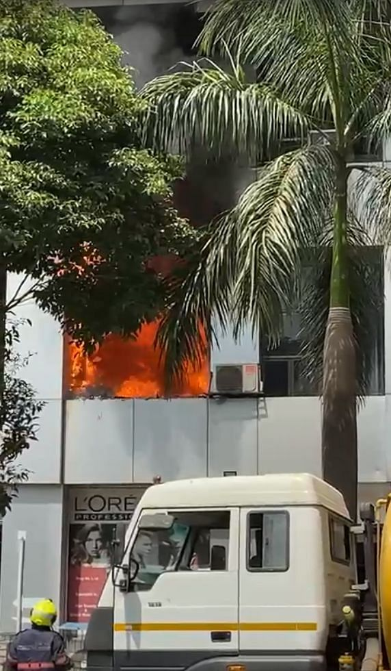 Ten dead, three injured, 60 rescued in fire in COVID Centre in Mumbai shopping mall