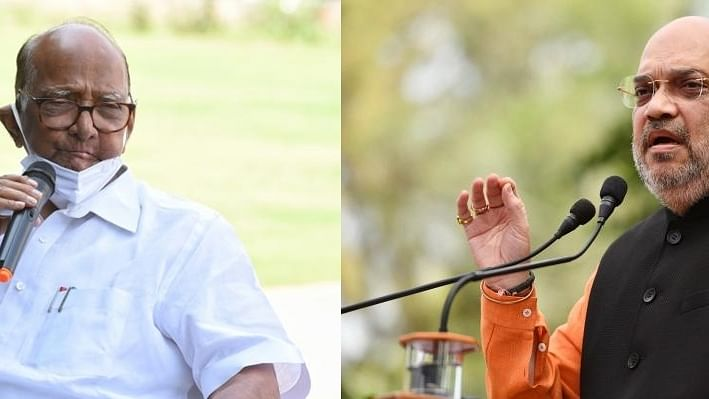 Amid NCP-Sena spat, Pawar-Amit Shah 'meeting' triggers speculation