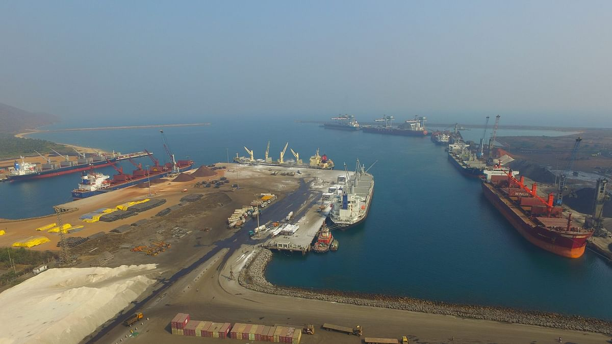 Adani Ports to acquire controlling interest of 58.1% in Gangavaram Port from DVS Raju Family for Rs 3,604 crore