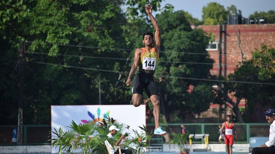 Sreeshankar's national record leap gets him Olympic ticket