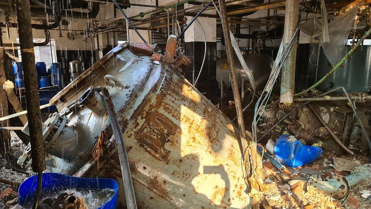 2 dead, 4 injured in Andhra pharma company blast