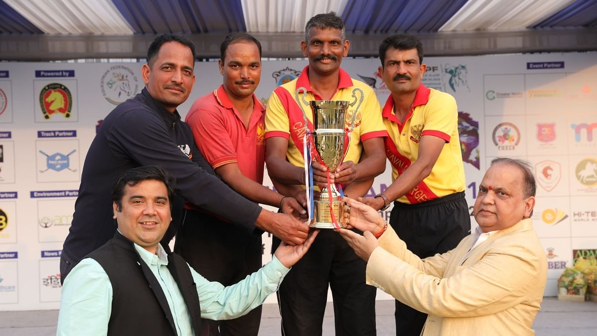 Equestrian: 61st Cavalry win Team Lance and Team Sword Competition at National Tent Pegging Championship