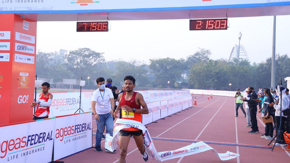 Srinu Bugatha, Sudha Singh win New Delhi Marathon titles but fail to qualify for Olympics