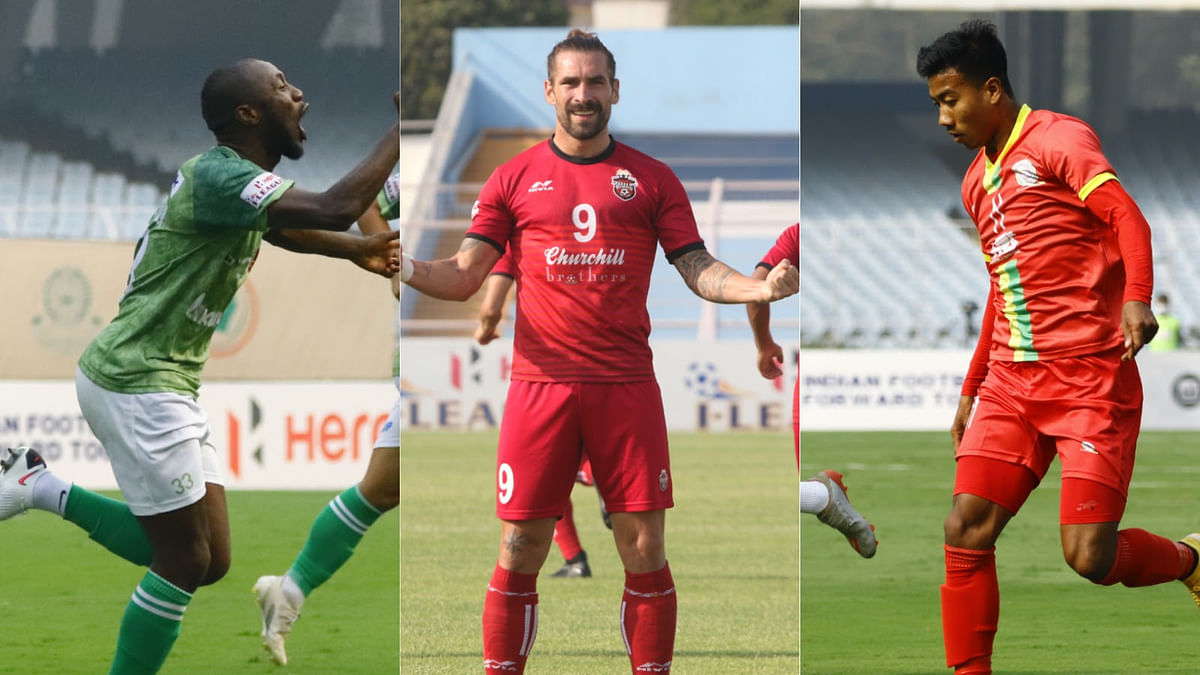 Three-way battle for top scorer award set to go down to the wire on I-League D-Day
