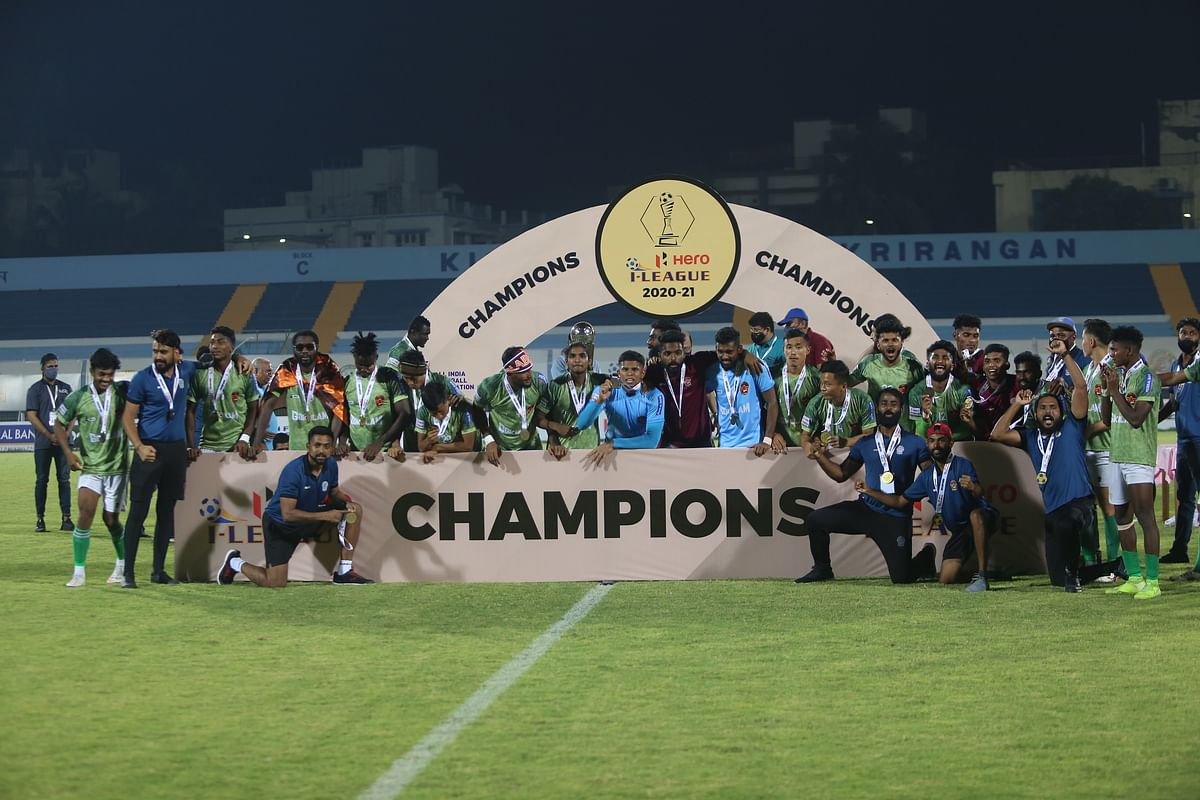 Gokulam complete incredible comeback to become Kerala's first Hero I-League Champions