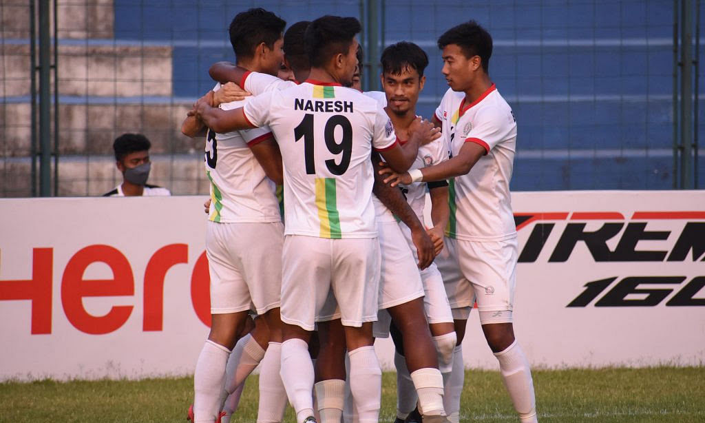 Bidyashagar's hat-trick helps TRAU steam past Mohammedan 4-0