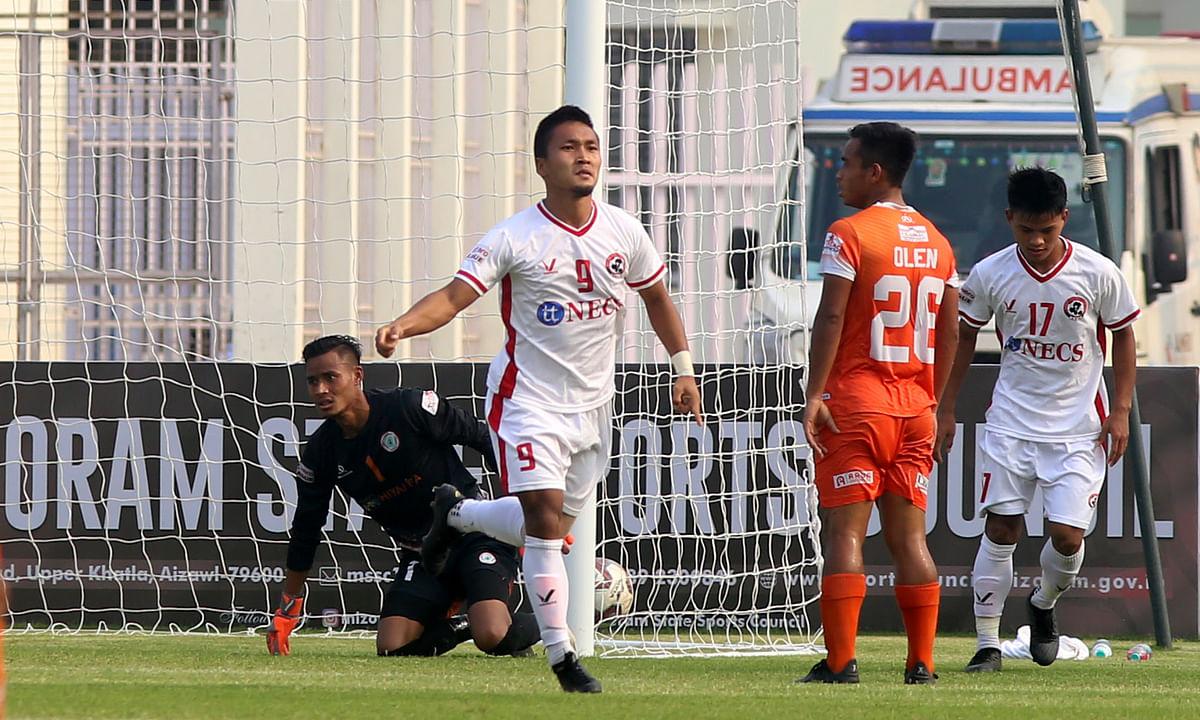 I-League: Aizawl beat Neroca, escape relegation threat