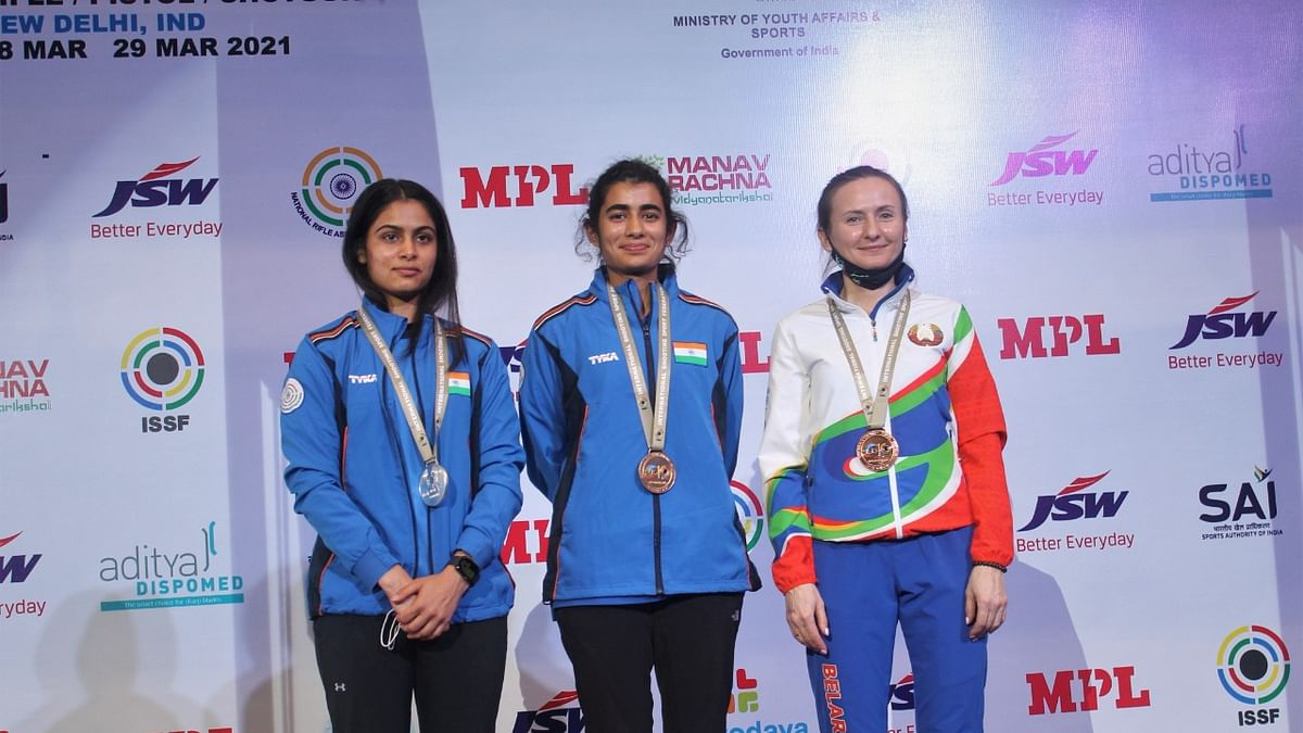 Shooting World Cup: Yashaswini Deswal wins gold, India claim four medals