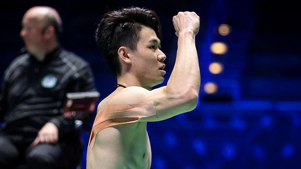 Lee Zii scores big upset, wins All England badminton men's title