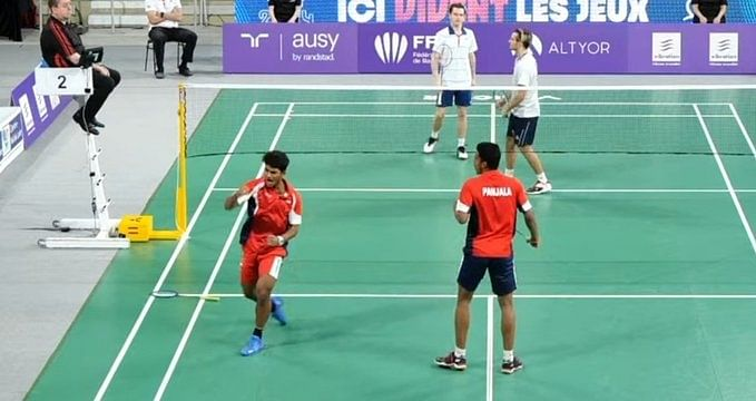 Orleans badminton: India's Garaga-Panjala in men's doubles final
