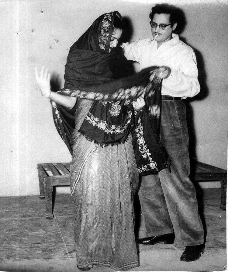 Guru Dutt with Waheeda Rehman