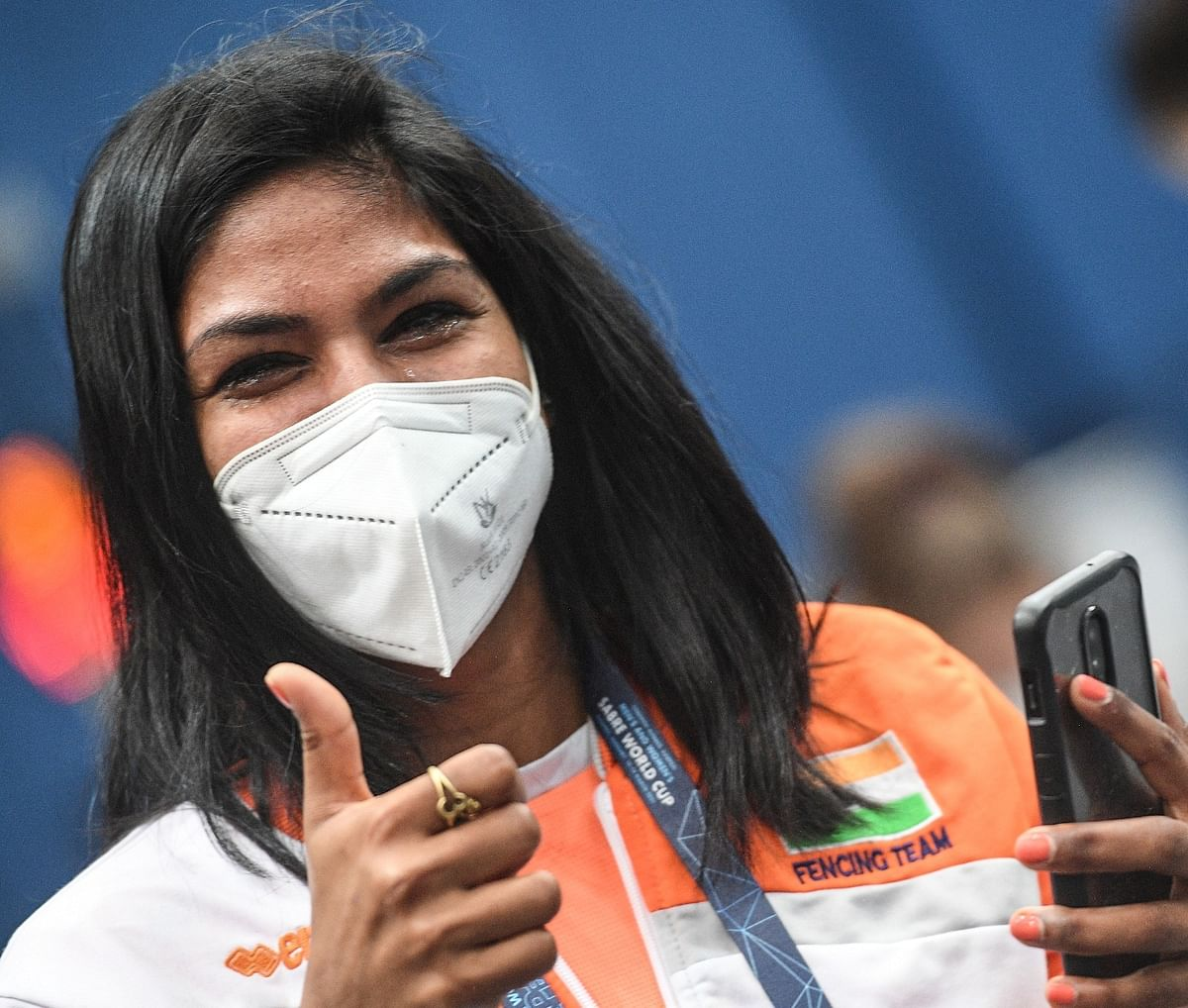 Bhavani Devi becomes first-ever Indian fencer to qualify for Olympics