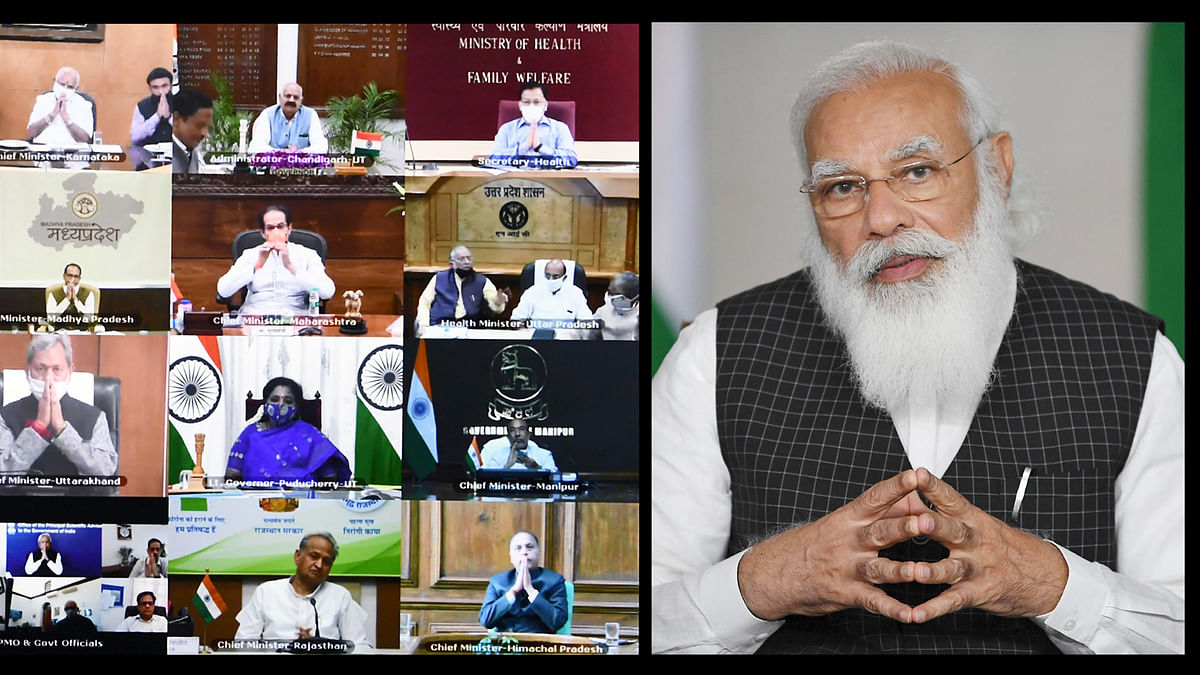 Modi calls for steps to stop the emerging 'second peak' of COVID-19