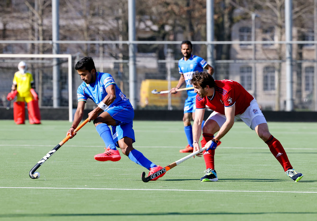 Hockey: Simranjeet's late strike helps India hold Britain to a 1-1 draw