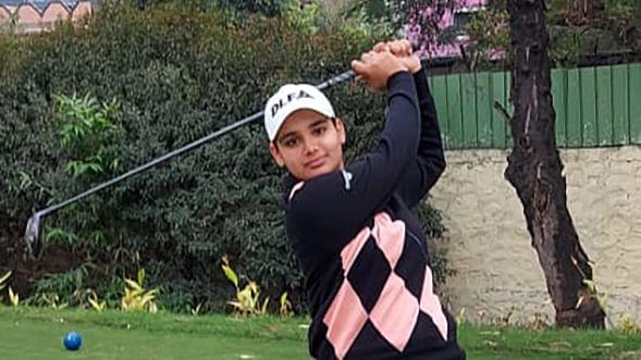 Golf: Teen pro Jahanvi Bakshi, amateur Sneha Singh tied for the lead in 7th leg of Hero WPGT