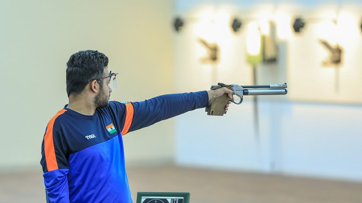 Para Shooting: Narwal bags second gold for India; sets new world record
