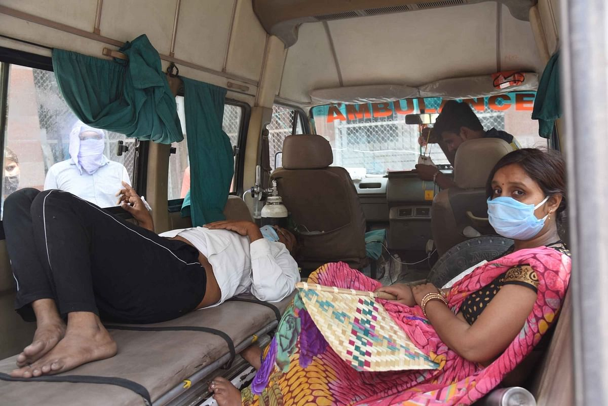 India reports new highs of 2,812 COVID-19 deaths, 352,991 fresh cases of infection in last 24 hours