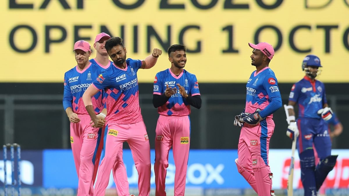 Unadkat's early strikes help RR restrict Delhi Capitals to 147/8